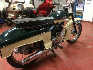 Norton Jubilee de Luxe, 1960 SOLD