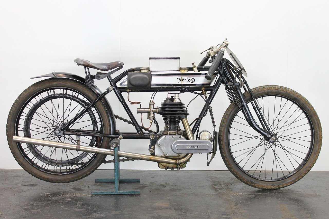 Norton replica Brooklands Special 1920 490cc 1 cyl sv For Sale (picture 1 of 6)