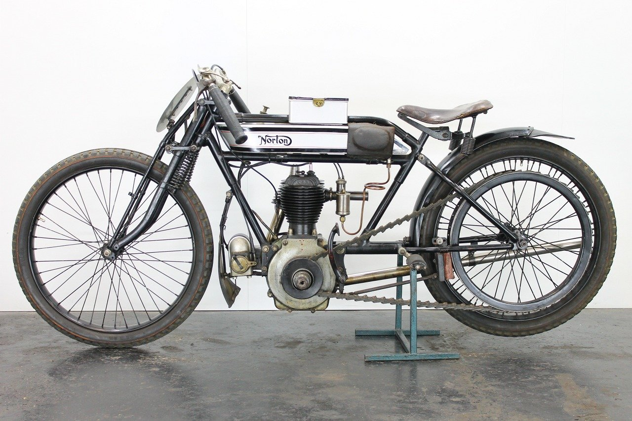 Norton replica Brooklands Special 1920 490cc 1 cyl sv For Sale (picture 2 of 6)