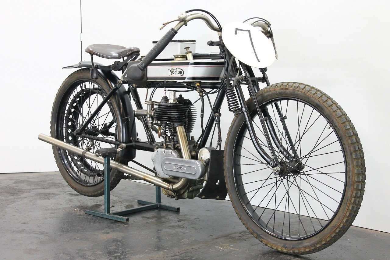 Norton replica Brooklands Special 1920 490cc 1 cyl sv For Sale (picture 3 of 6)