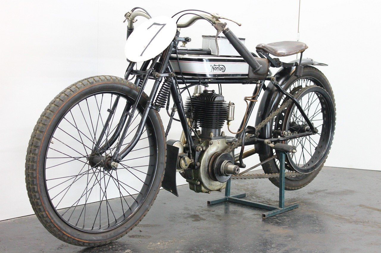 Norton replica Brooklands Special 1920 490cc 1 cyl sv For Sale (picture 4 of 6)