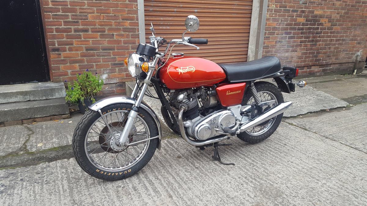 1973 Norton 850 Commando For Sale (picture 1 of 6)