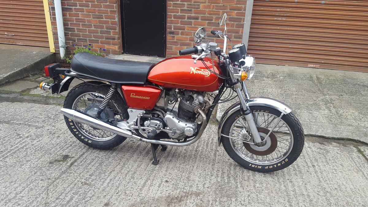1973 Norton 850 Commando For Sale (picture 2 of 6)