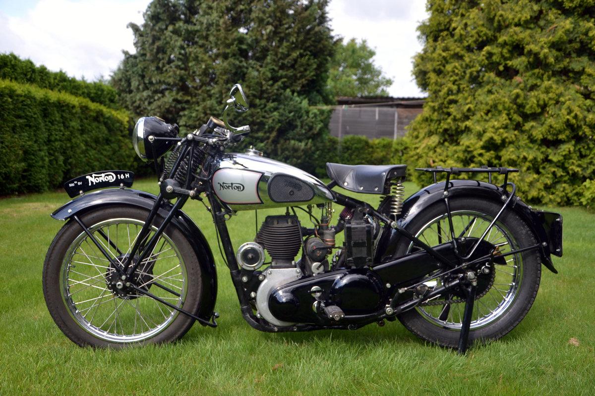 1947 Norton 16h sv 500cc  For Sale (picture 1 of 6)