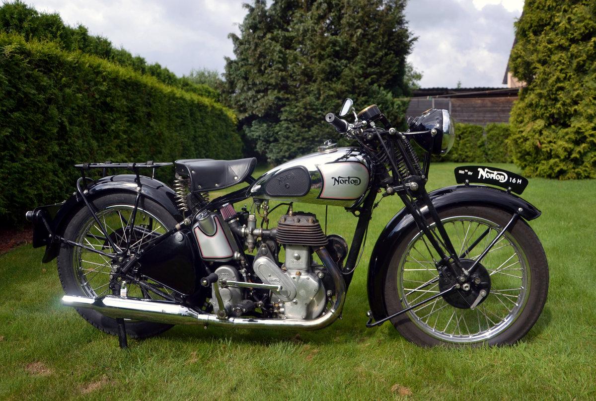 1947 Norton 16h sv 500cc  For Sale (picture 2 of 6)