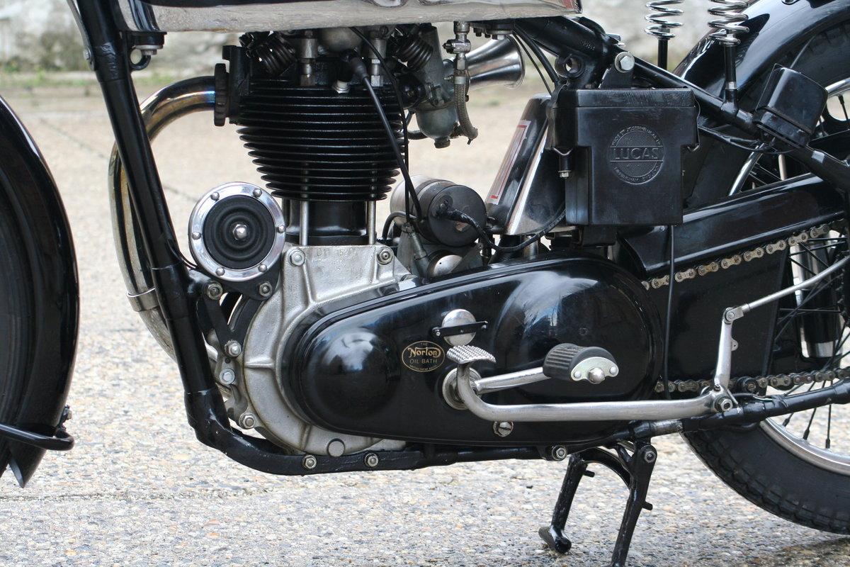 Norton International M30 500cc OHC 1948 For Sale (picture 4 of 6)