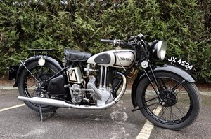 1936 Norton Model 18 500cc Very Original