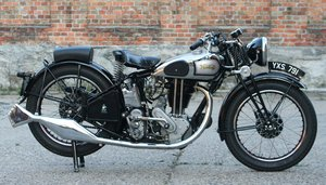 Norton Model 19 600cc OHV 1936