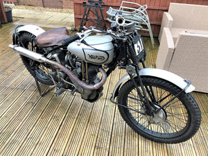1937 Norton Model 18 Trials Evocation For Sale by Auction