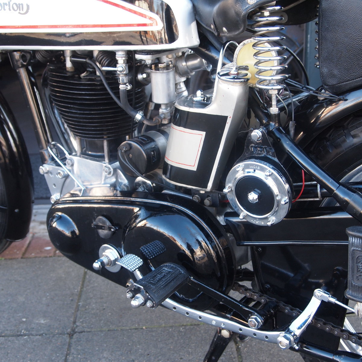 1949 Norton International Model 30 BIKE HAS BEEN RESERVED.  SOLD (picture 6 of 6)