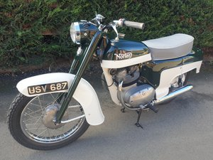 1960 Norton Jubilee Deluxe  SOLD by Auction
