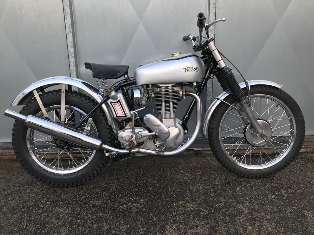 1951 NORTON T500 TRIALS CLASSIC WITH V5 & TRICK BELT CLUTCH ETC  For Sale (picture 1 of 6)