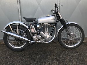 1951 NORTON T500 TRIALS CLASSIC WITH V5 & TRICK BELT CLUTCH ETC  For Sale