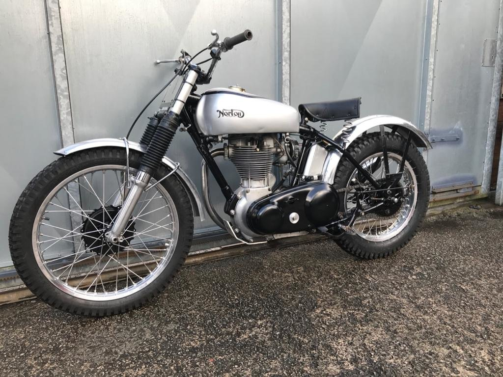 1951 NORTON T500 TRIALS CLASSIC WITH V5 & TRICK BELT CLUTCH ETC  For Sale (picture 3 of 6)
