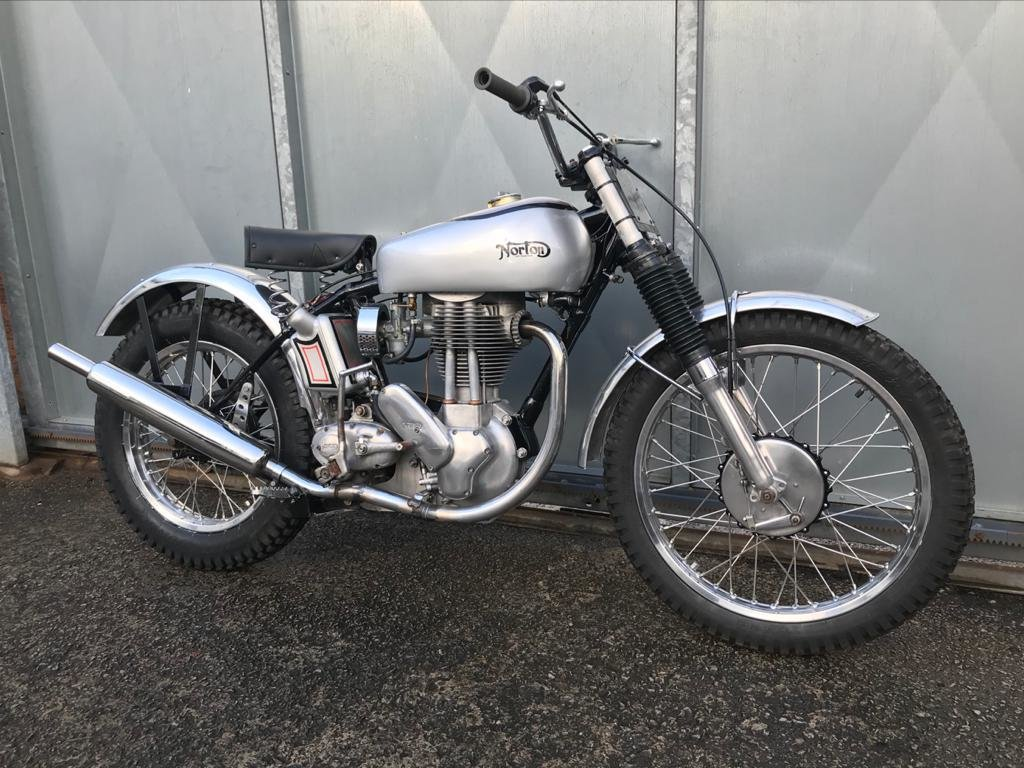 1951 NORTON T500 TRIALS CLASSIC WITH V5 & TRICK BELT CLUTCH ETC  For Sale (picture 4 of 6)