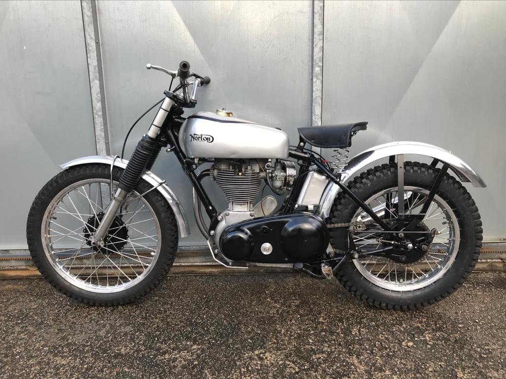 1951 NORTON T500 TRIALS CLASSIC WITH V5 & TRICK BELT CLUTCH ETC  For Sale (picture 5 of 6)
