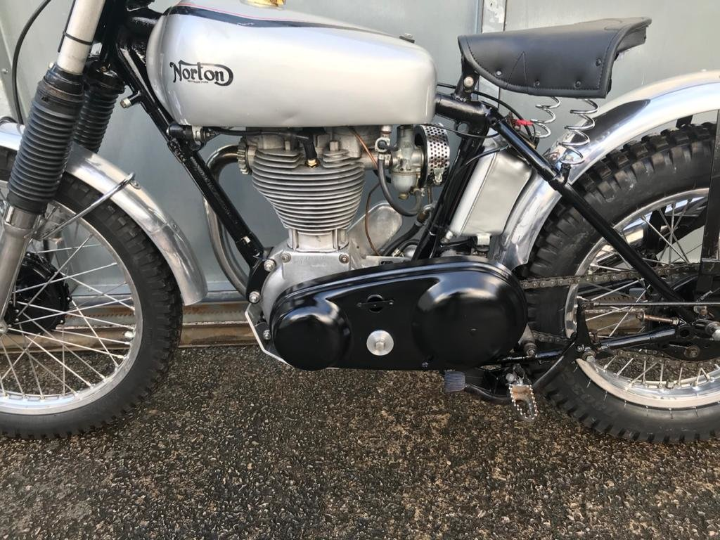 1951 NORTON T500 TRIALS CLASSIC WITH V5 & TRICK BELT CLUTCH ETC  For Sale (picture 6 of 6)