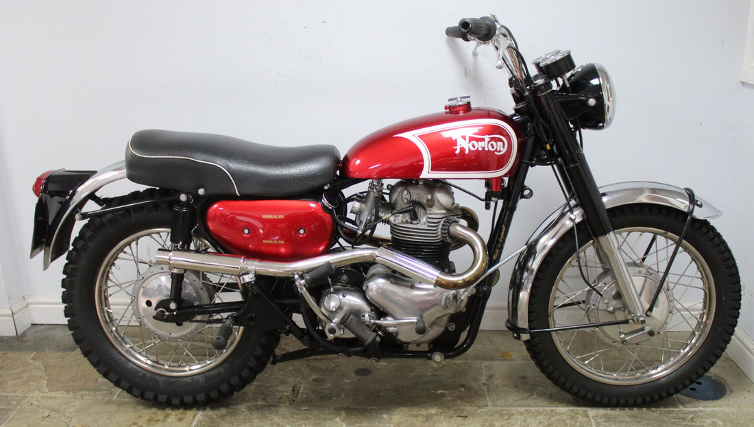 1964 Norton N15 CS Twin Presented Show Order For Sale (picture 1 of 4)