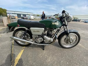 1970 Norton Commando 06/05/20 SOLD by Auction