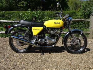 1972 Outstanding and fully sorted Norton Commando 750