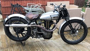 1937 Norton Model 18 Trials Evocation