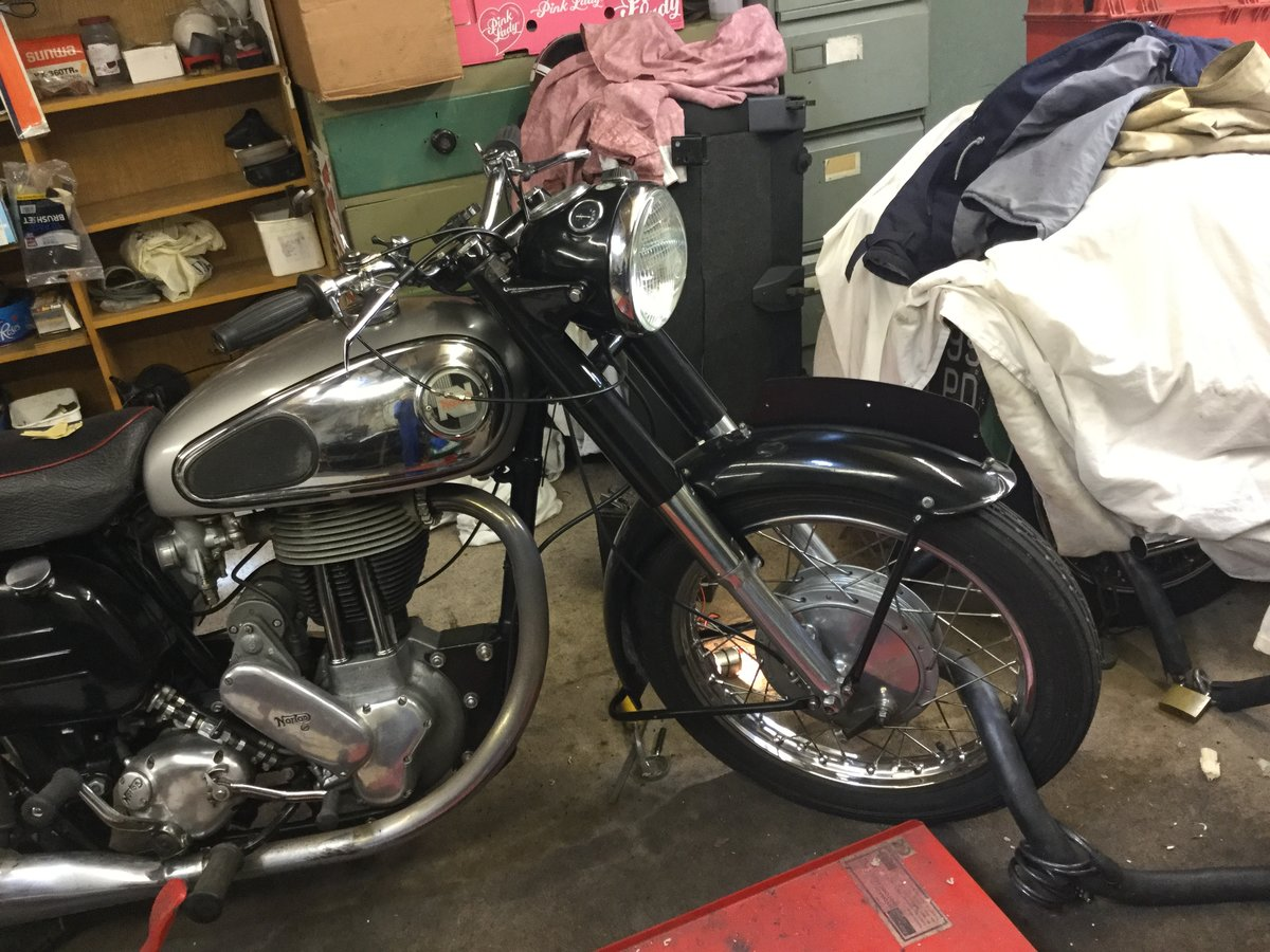 1957 Norton SOLD (picture 2 of 6)