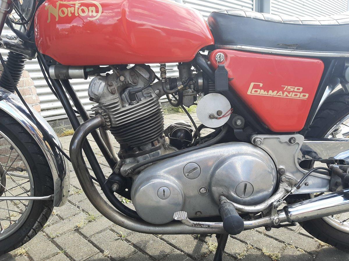 NORTON COMMANDO 1970 For Sale (picture 5 of 6)