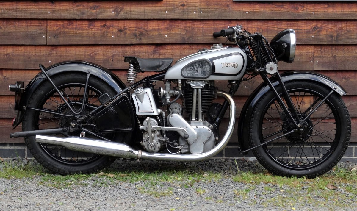 1938 Norton Model 18 SOLD (picture 1 of 6)