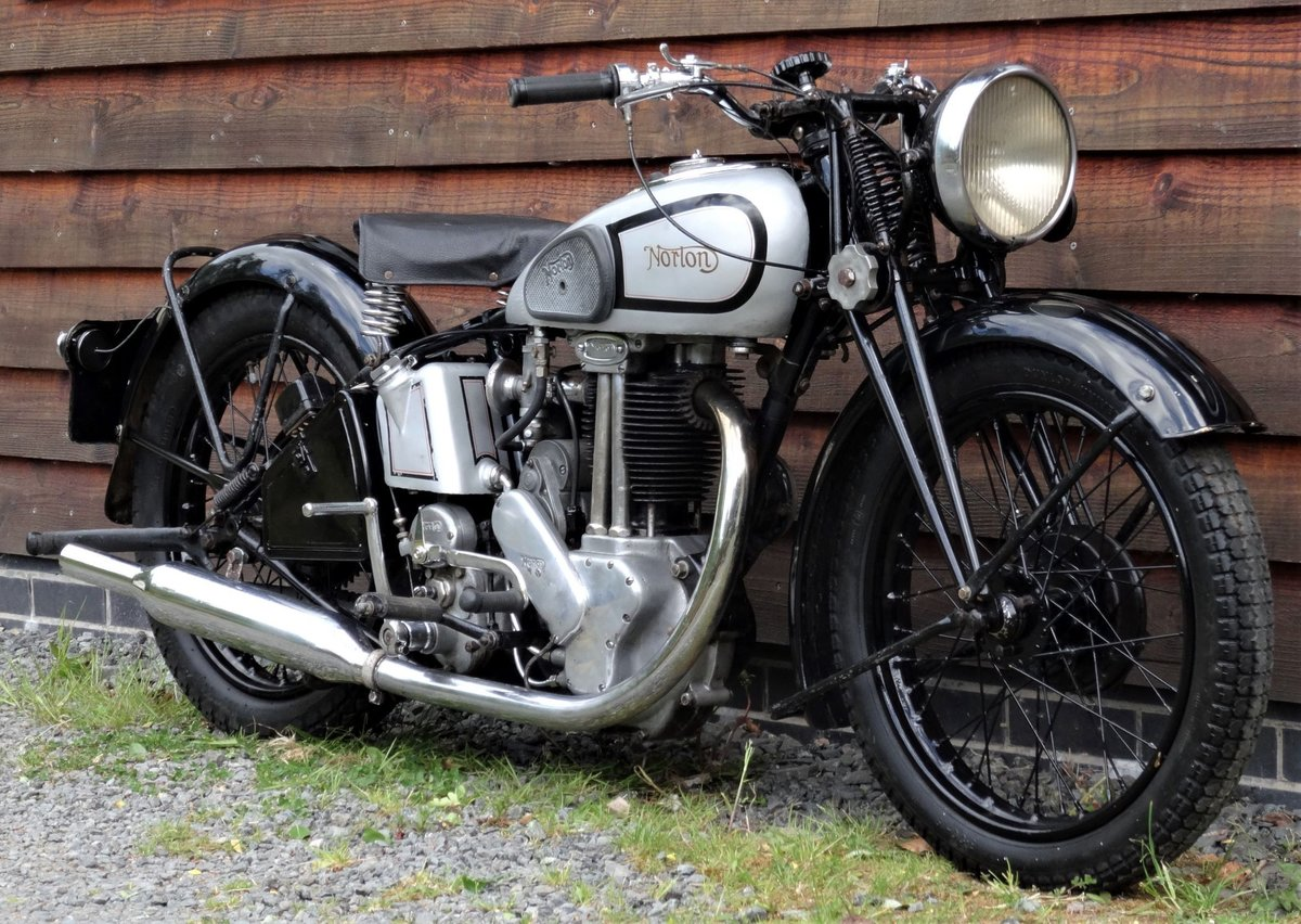 1938 Norton Model 18 SOLD (picture 2 of 6)