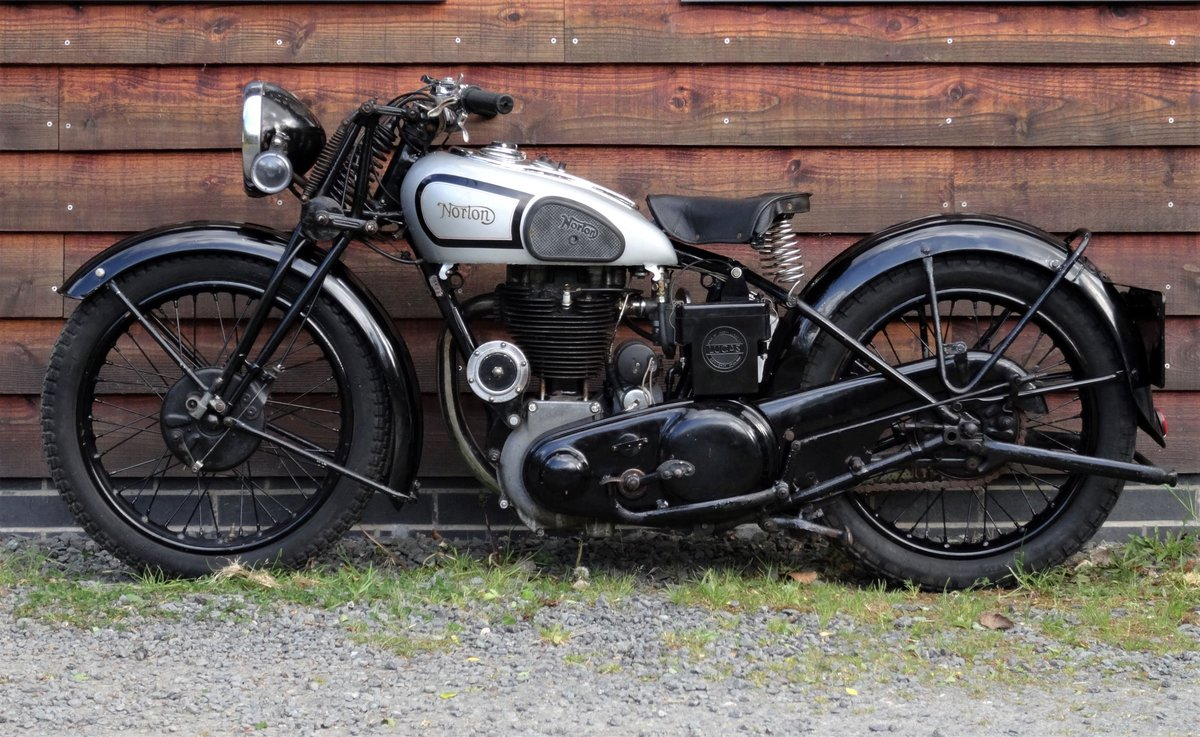 1938 Norton Model 18 SOLD (picture 4 of 6)