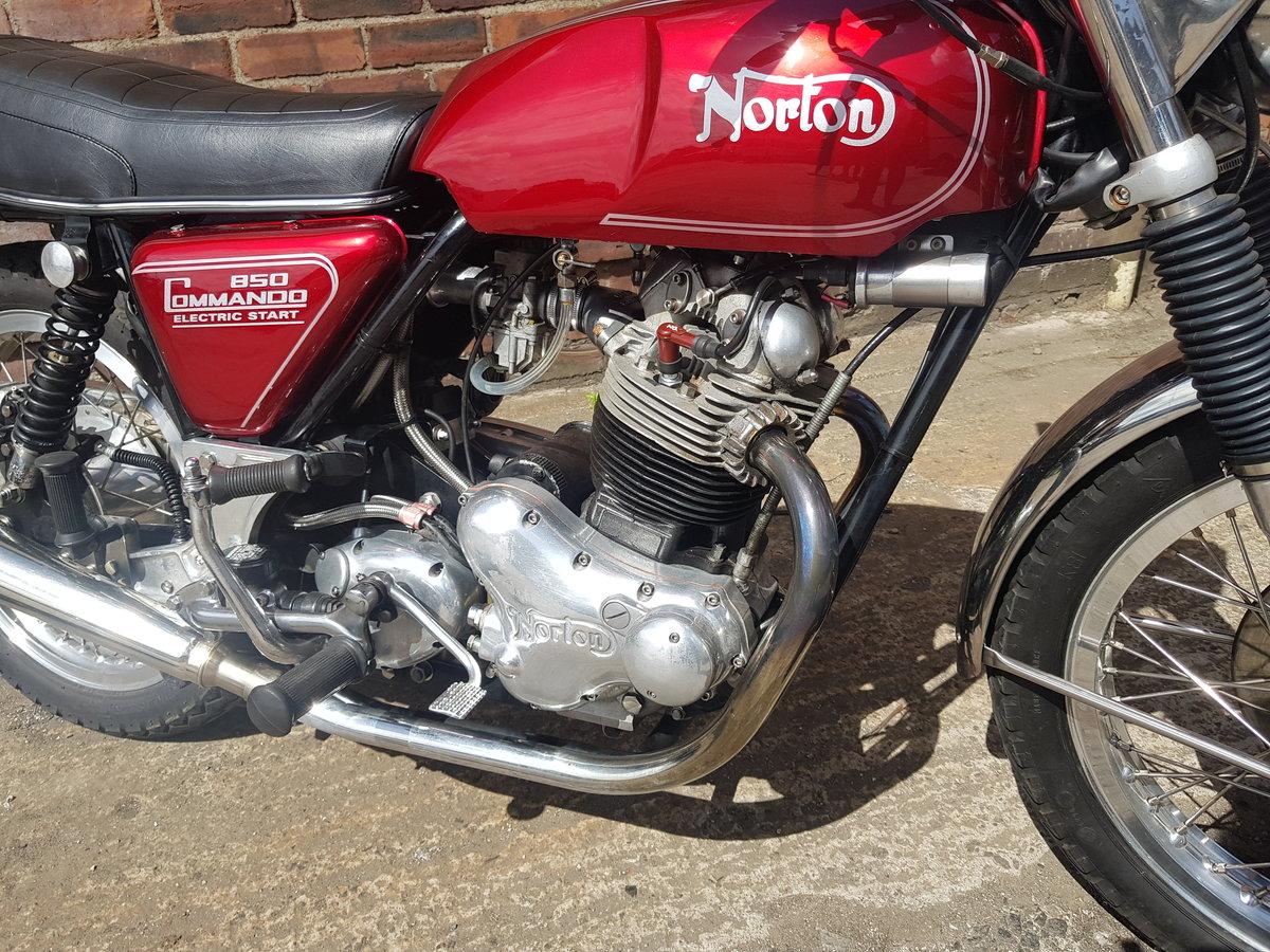1977 Norton Commando 850 Electric Start For Sale (picture 3 of 6)