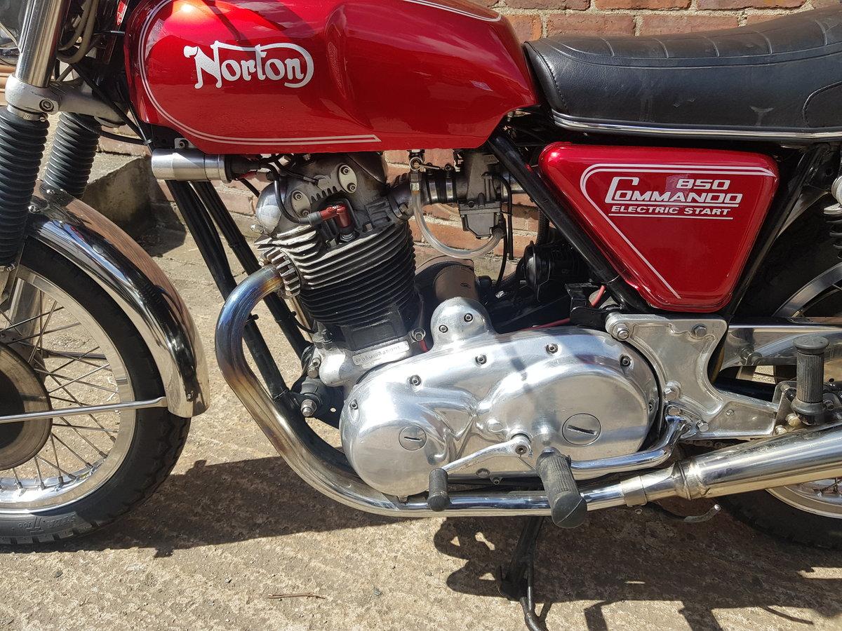 1977 Norton Commando 850 Electric Start For Sale (picture 4 of 6)