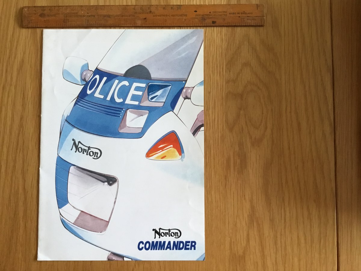 1990 Norton Commander brochure For Sale (picture 1 of 1)
