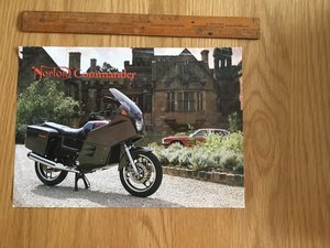 1980 Norton Commander brochure For Sale