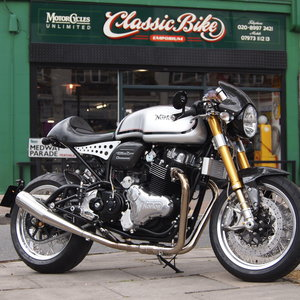 No.2 of 3 Limited Edition Norton Dominator ManxMan.
