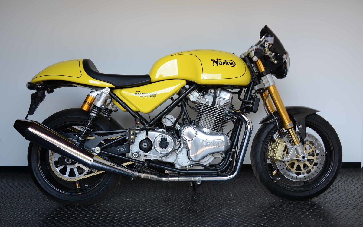 2011 Norton Commando 961 Cafe Racer For Sale (picture 1 of 10)
