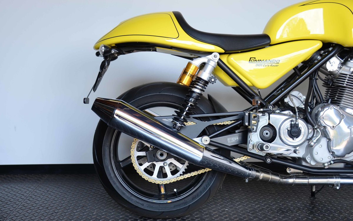 2011 Norton Commando 961 Cafe Racer For Sale (picture 2 of 10)