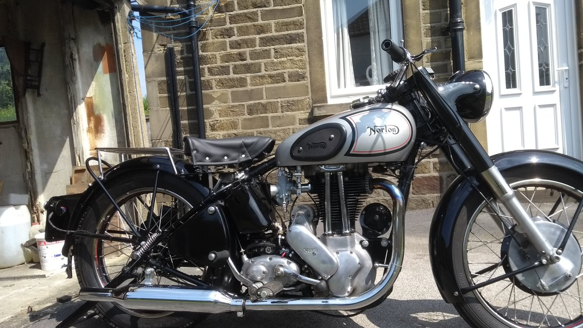 1950 norton model 18 SOLD (picture 5 of 5)