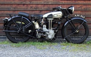 Original 1934 Norton ES2