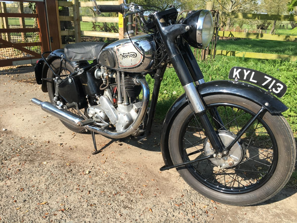 1949 Norton ES2  'Garden Gate'  For Sale (picture 5 of 6)