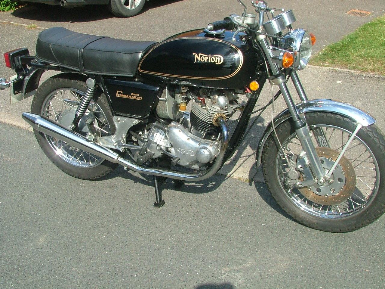 1976 Norton Commando 850 Mk2a For Sale (picture 5 of 5)
