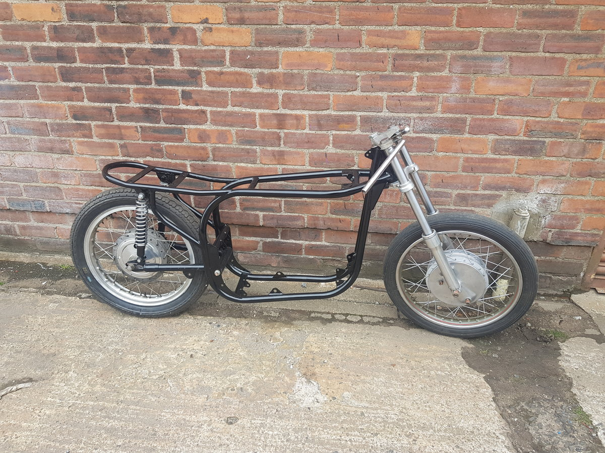 1960 Norton slimline featherbed rolling chassis  For Sale (picture 1 of 3)