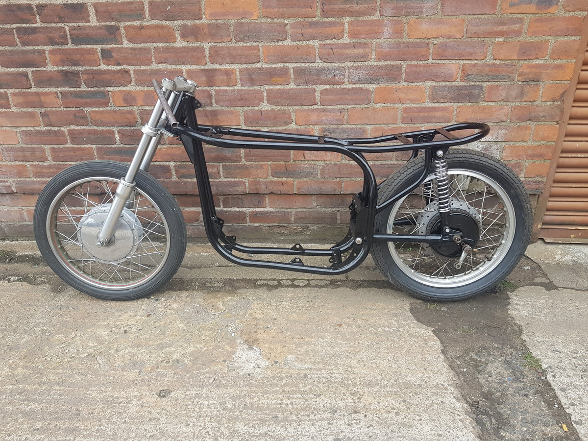 1960 Norton slimline featherbed rolling chassis  For Sale (picture 2 of 3)