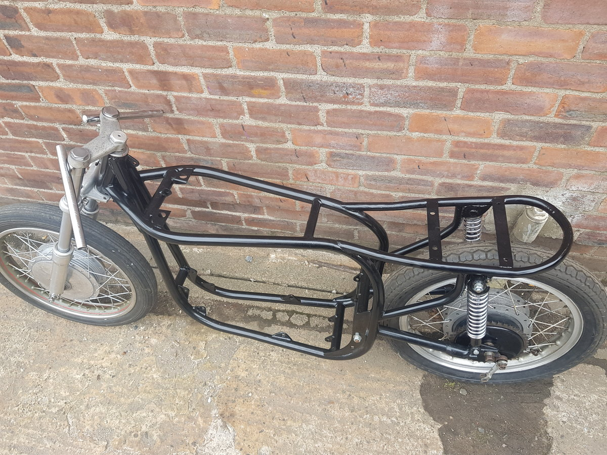 1960 Norton slimline featherbed rolling chassis  For Sale (picture 3 of 3)