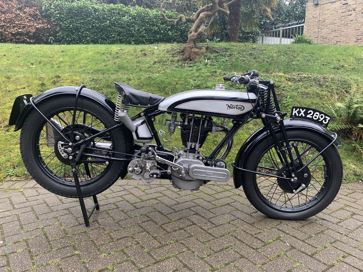 1929 Norton Model 18 For Sale by Auction (picture 1 of 6)