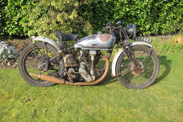 1933/1936 NORTON 348CC INTERNATIONAL MODEL 40 (LOT 365) SOLD by Auction (picture 1 of 1)