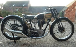 1932 NORTON 350CC MODEL 50 (LOT 366)