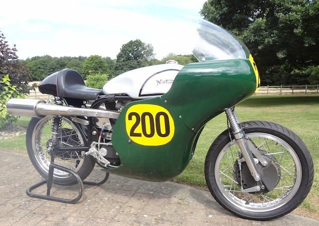 0000 NORTON 499CC MANX REPLICA (LOT 438) SOLD by Auction (picture 1 of 1)