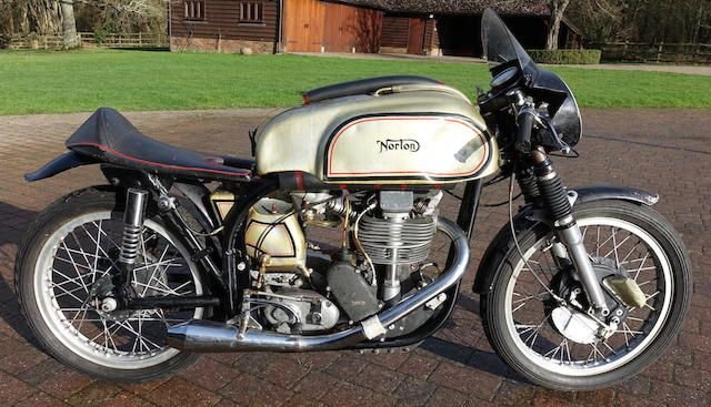1954/5 NORTON 348CC MANX MODEL 40M (LOT 439) SOLD by Auction (picture 1 of 1)