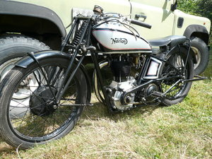 Norton CS1 TT Replica